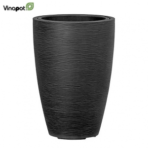 Chậu composite Patea (smoke black)