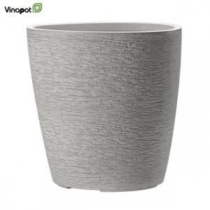 Chậu composite Apiti (soft grey)