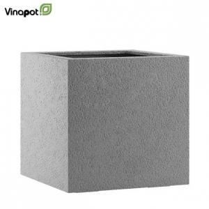 Chậu composite Lisburn màu đá xám (basalt grey)