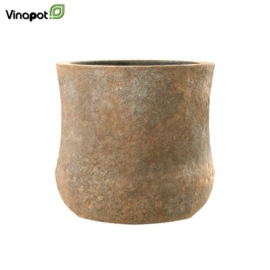 Chậu composite Kerry (old stone brown)