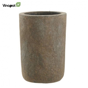 Chậu composite Osset (old stone brown)