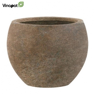 Chậu composite Woodley (old stone brown)