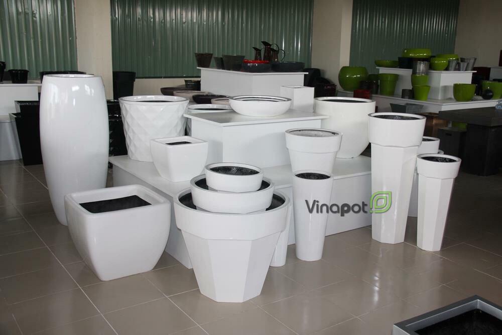 Xưởng sản xuất chậu composite Vinapot