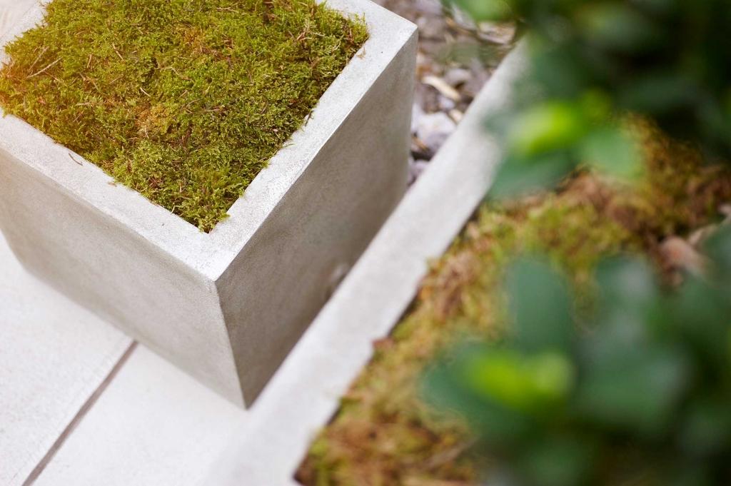 Chậu composite Esteras Naturelite warm concrete
