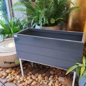 Chậu gỗ nhựa cao cấp Vinapot